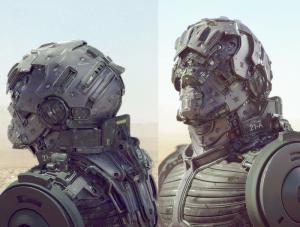 Exoskeleton armored suit