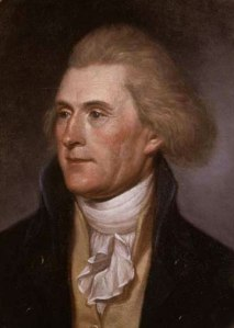 Thomas Jefferson - young