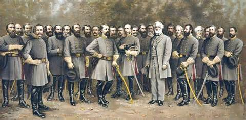 General Lee and his general staff