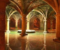 Ancient cistern at El Jadida, Morocco. Source: Axel Rouvin