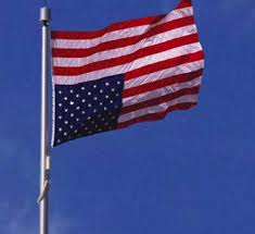 Upside down American flag