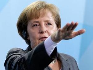 Angela Merkel NAZI salute